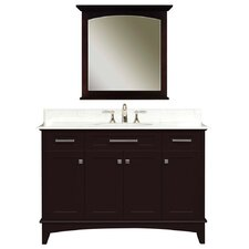 "48"" Single Bathroom Vanity Set with Mirror"