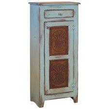 Zoe 1 Drawer 1 Door Cabinet with Star Tins