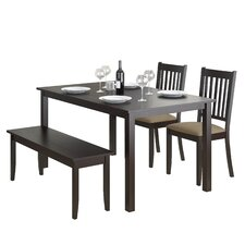 Atwood 4 Piece Dining Set