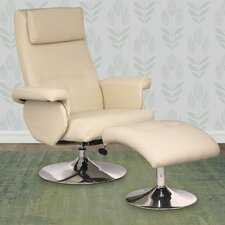 Yalaha Chair Recliner and Ottoman