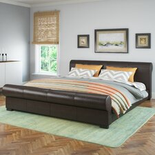 San Antonio Upholstered Platform Bed