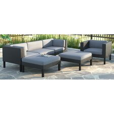 Oakland 6 Piece Lounge Seating Group with Cushions