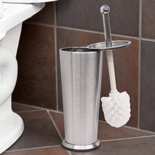 Tapered Free Standing Toilet Brush and Holder