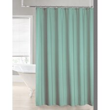 2-in-1 Waterproof Shower Curtain