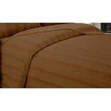 Wave Reversible Luxe Faux Mink Fur Throw Blanket