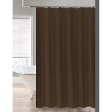 2-in-1 Waterproof Shower Curtain