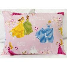 Disney Princesses Polyester Down Alternative Standard Pillow