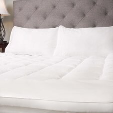 Hypoallergenic Down Alternative Fiber Bed Mattress Topper