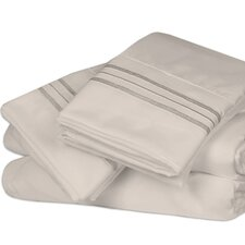 Microfiber 1500 Thread Count Sheet Set