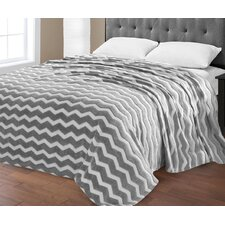 Super Plush Chevron Jacquard Blanket