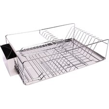 Home Basics 3 Piece Kitchen Sink Dish Drainer Set