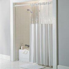 Vinyl See Through Bath Shower Curtain