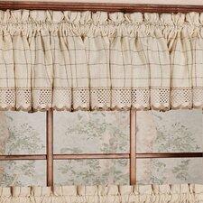 """Adirondack Cotton Kitchen Window 60"""" Curtain Valance"""