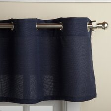 "Jackson Textured Solid Kitchen 60"" Curtain Valance"