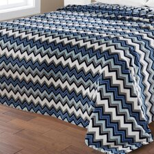 Camesa Ultra Plush Zig Zag Blanket