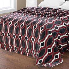 Lauren Ultra Plush Geometric Blanket