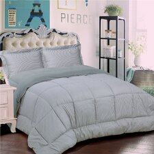 Loft Collection 3 Piece Comforter Set