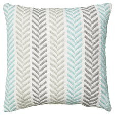 Chevron 100% Cotton Throw Pillow