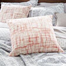 Woven Cotton Throw Pillow