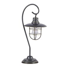 "Timaios 23"" H Table Lamp with Bell Shade"