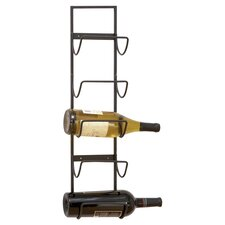 Zeldaron 5 Bottle Wall Mounted Wine Rack