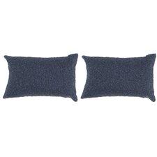 Navy Beaded Decorative Pillow (Set of 2)