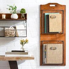 Wall-Mounted Storage Basket