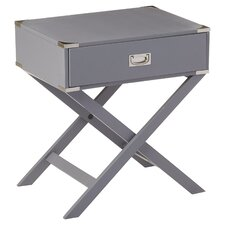 Neptune Campaign 1 Drawer End Table