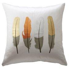 Artman Feather Throw Pillow