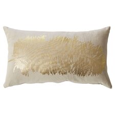 Anacletus Metallic Feather Lumbar Pillow
