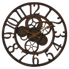 "Gears in Motion 14"" Gear Wall Clock"