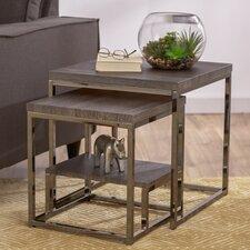 Philippos 2 Piece Nesting Table Set