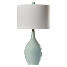 "Abner 27"" H Table Lamp with Drum Shade"