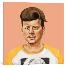 'John Kennedy' by Amit Shimoni Graphic Art on Wrapped Canvas