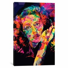 Bette Alternate by Alessandro Pautasso Graphic Art on Wrapped Canvas