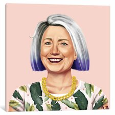 Hillary Clinton by Amit Shimoni Graphic Art on Wrapped Canvas