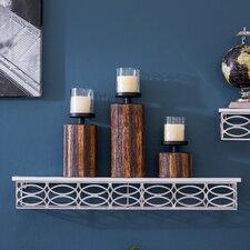 3-Piece Candleholder Set