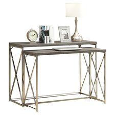 Balog 2 Piece Nesting Console Table Set