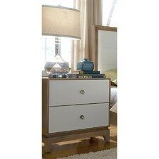 Hector 2 Drawer Nightstand