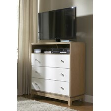 Hector 3 Drawer Media Chest