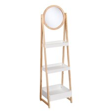 """64"""" Leaning Bookcase"""