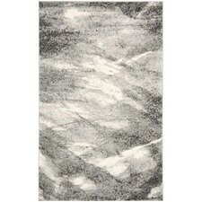 Vulpecula Gray and Ivory Area Rug