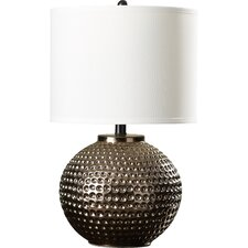 "22.25"" H Table Lamp with Drum Shade"