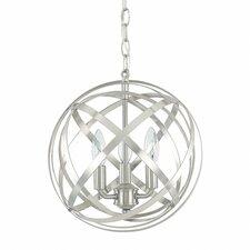 3 Light Globe Pendant