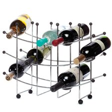 15 Bottle Wall Mounted Wine Rack
