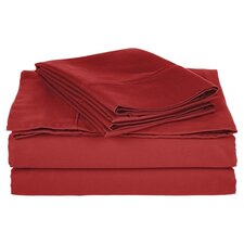800 Thread Count Cotton Blend Solid Sheet Set