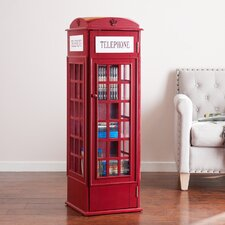 Angeles Phone Booth Storage Cabinet