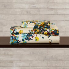Chiron 300 Thread Count Floral Printed Deep Pocket Sheet Set