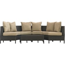 Eta Low Profile 5 Piece Seating Group with Cushion