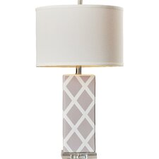 """Zylstra 27"""" H Table Lamp with Drum Shade"""